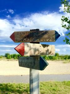 Sentiero del Tidone indicazioni