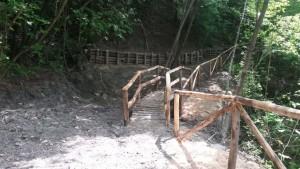 ponti sul sentiero del Tidone